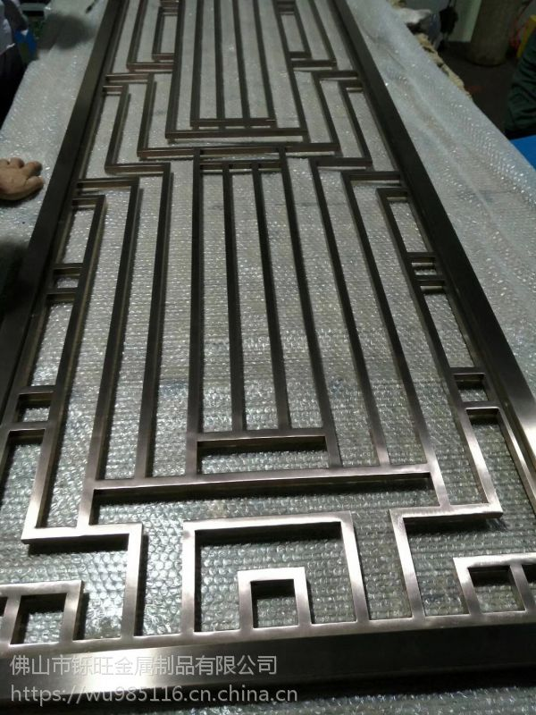 佛山铄旺金属制品厂家直供不锈钢屏风