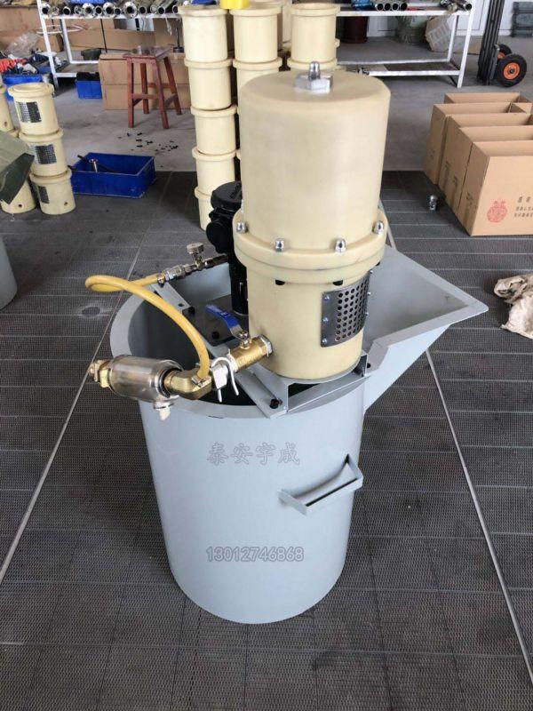 ZBQ27/1.5气动注浆泵 单液气动注浆泵 矿用单杠注浆泵