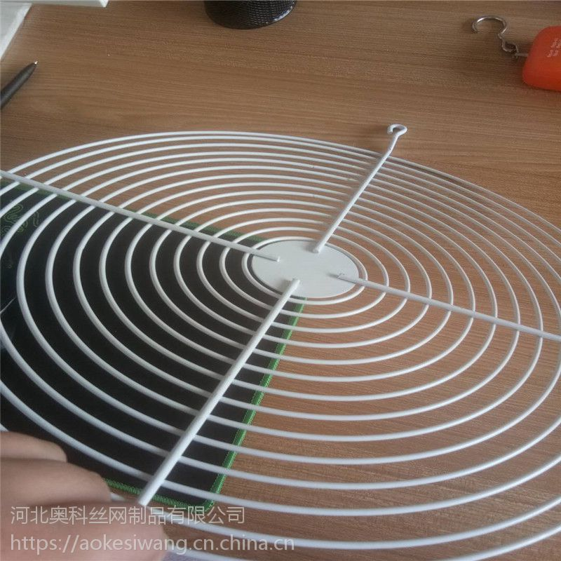 奥科厂家定做排风口防护网罩 喷塑风机罩 量大从优