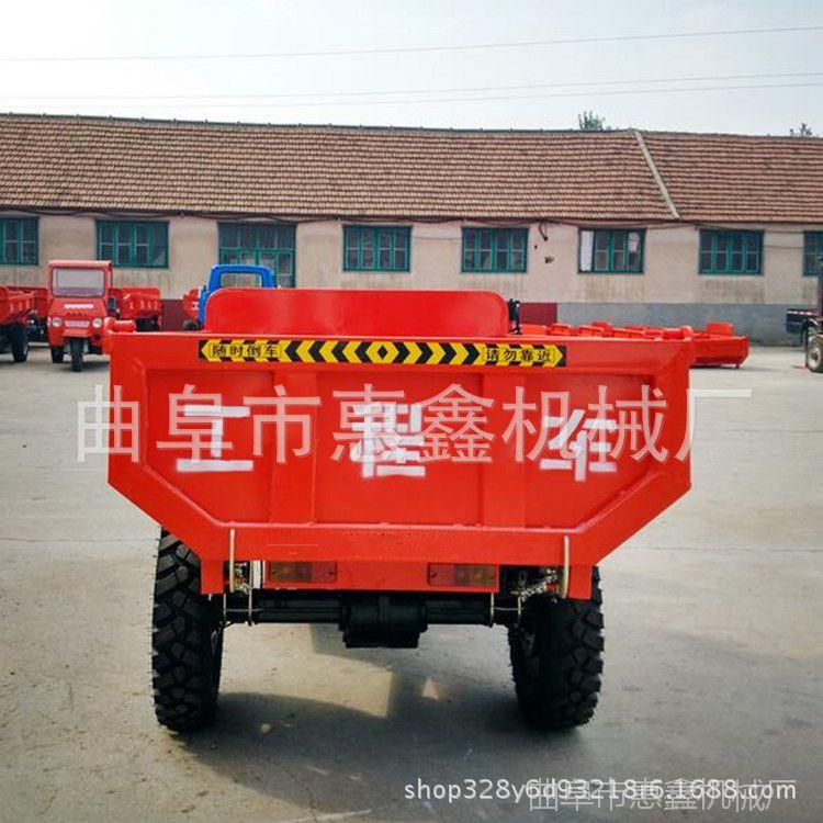 生产工程自卸三轮车 全新自卸式柴油三轮车 优质工矿产业三轮车