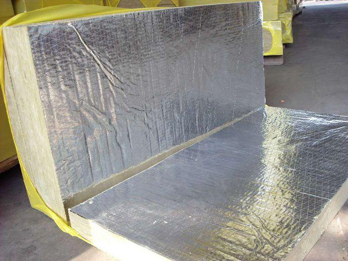 水泥玄武岩岩棉保温板质量好 A级防火保温岩棉板ET65
