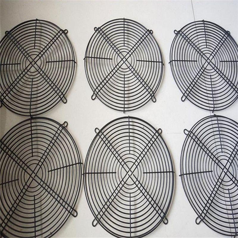 奥科厂家定做各种规格风机网罩,金属网罩