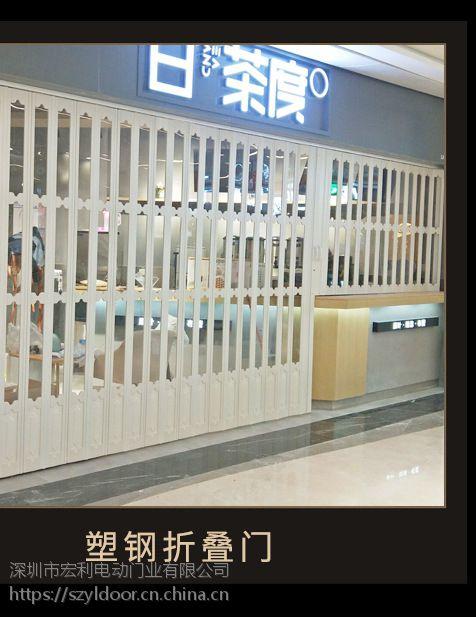 八卦岭水晶折叠门厂家商用家用适合安装位置/宏利权威策划加工