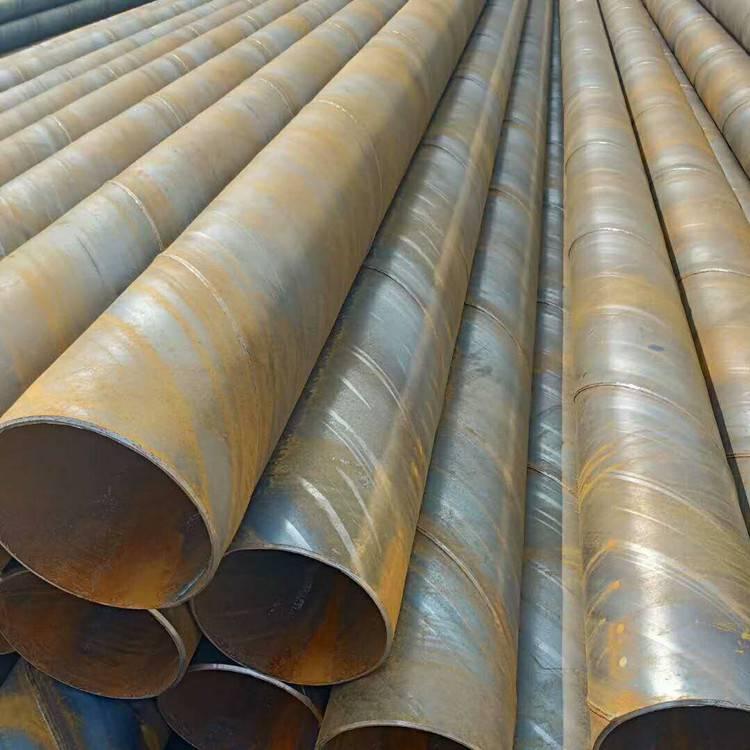 钢制螺旋桥式滤水管273*4-8实壁管 井壁管工程降水井管欢迎你