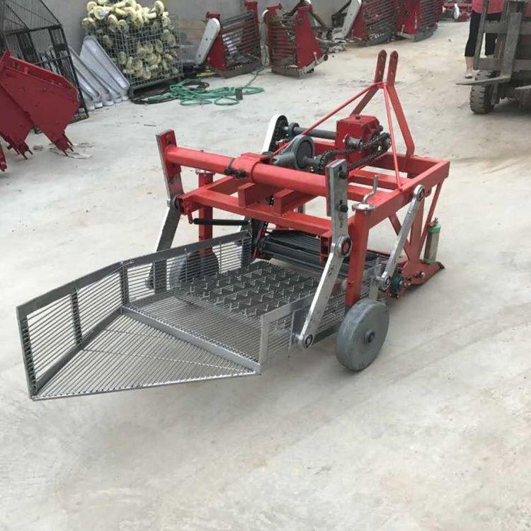 花生收获机 四轮拖拉机带动花生收割机 新型花生收获机