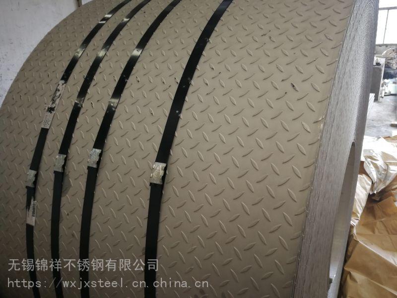 无锡304不锈钢原厂平底花纹防滑板厂家