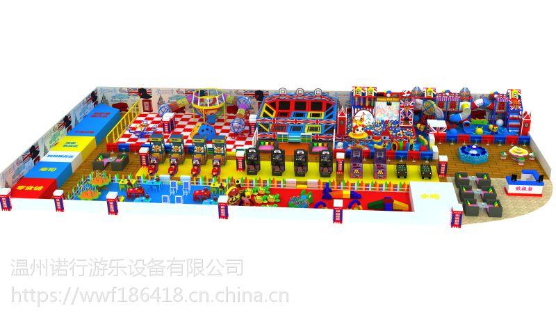亲子乐园儿童乐园厂家海洋球池组合滑梯超级蹦床