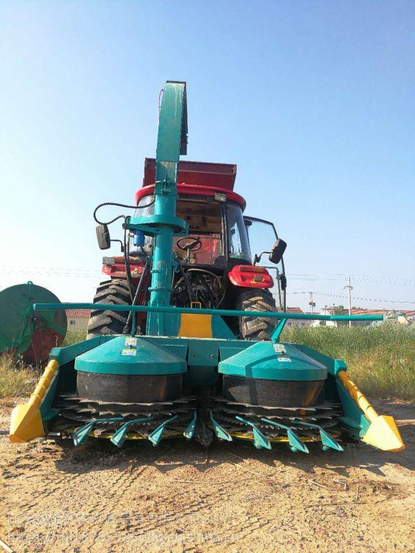 青储机山东牧乐农装4QX-2400独有籽粒破碎装置
