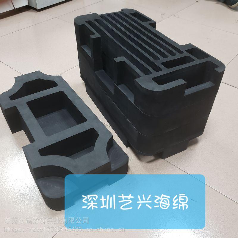 一体成型五金工具EVA内衬、CNC雕刻精密仪器EVA内衬,高密贴绒海绵内衬