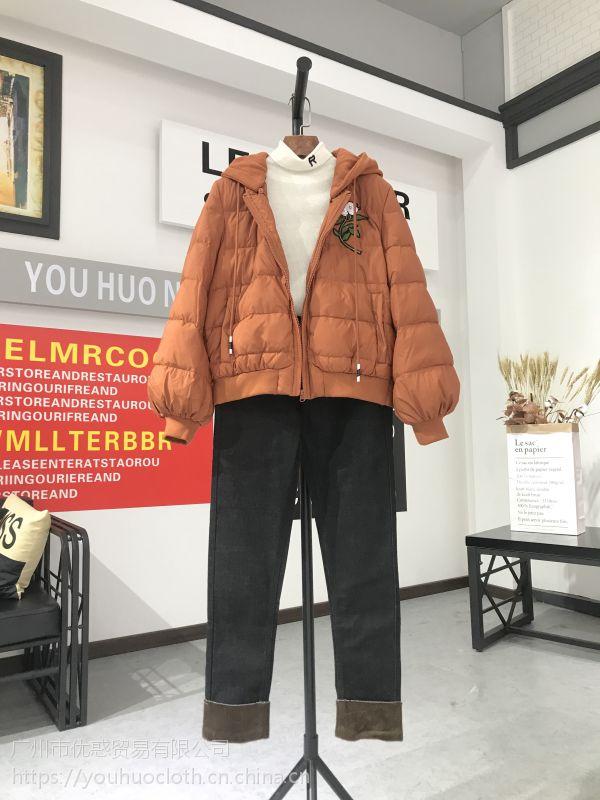 杭派精品 朗文斯汀17冬 品牌女装一手货源批发走份分份