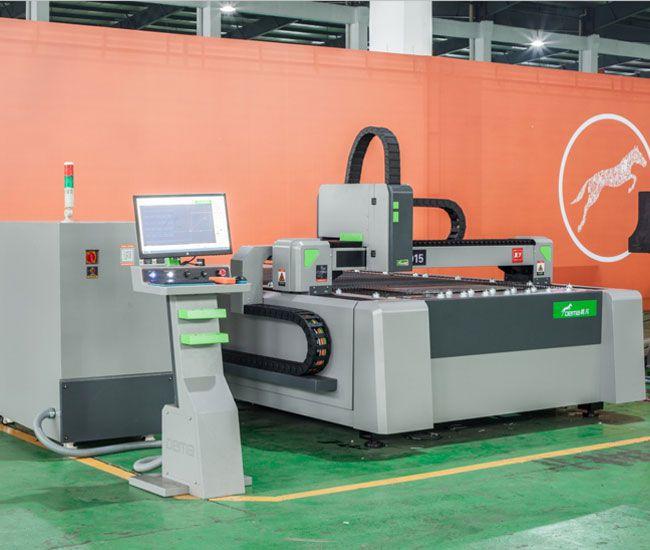 dema-X7-800w功率5mm碳钢工业光纤激光金属切割机