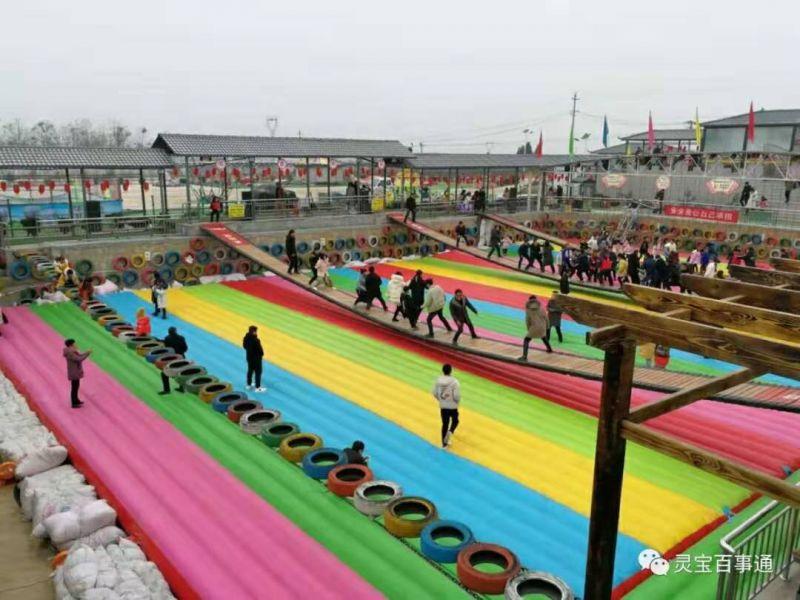 网红桥气垫   郑州乐鲸游乐设备有限公司