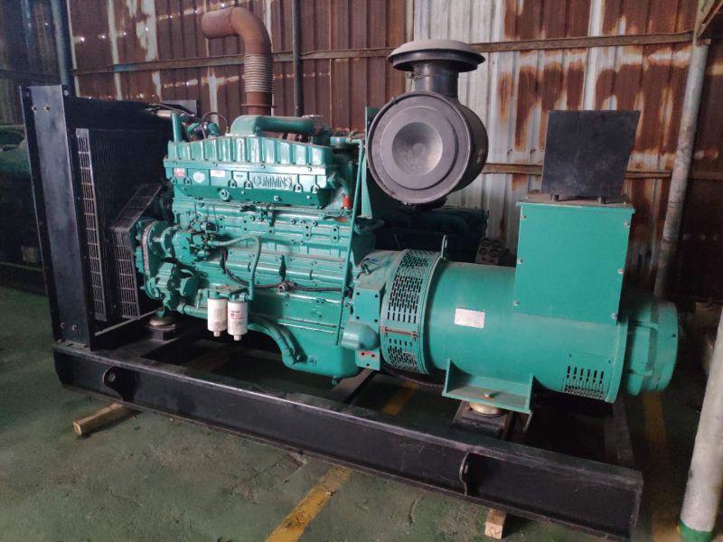 二手柴油发电机280kw康明斯现货出售
