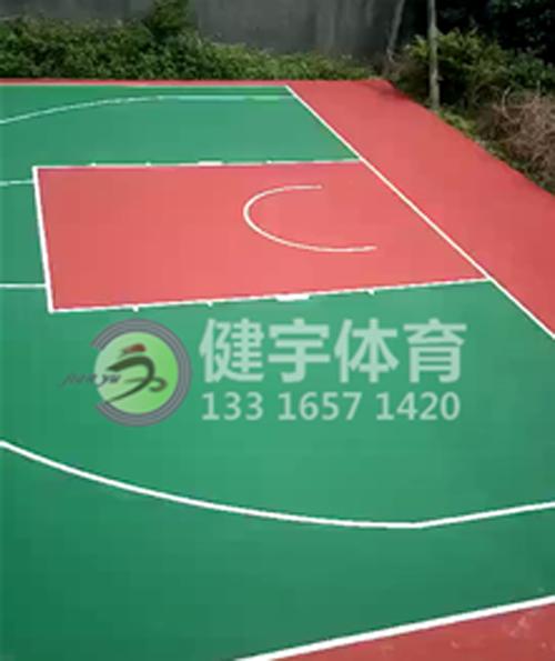 硅PU球场施工_丙烯酸球场工程施工_各类球场施工_篮球场施工