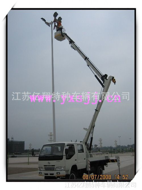 12米高空作业平台车 上下液压操作特种车辆