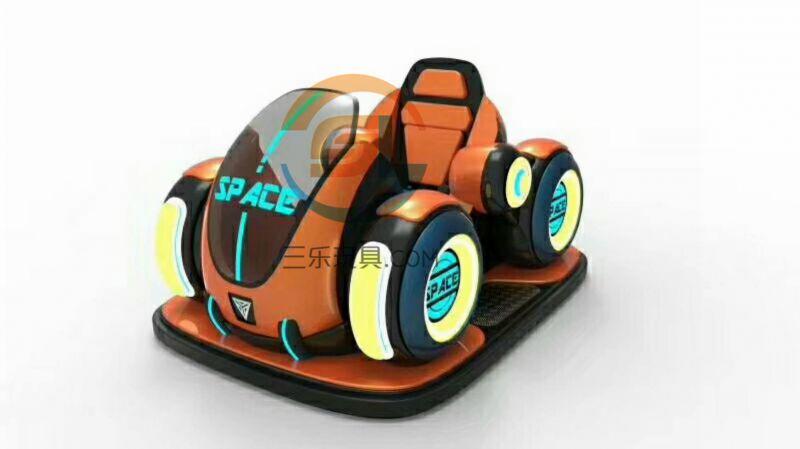 吹泡泡碰碰车电动双人游乐设备