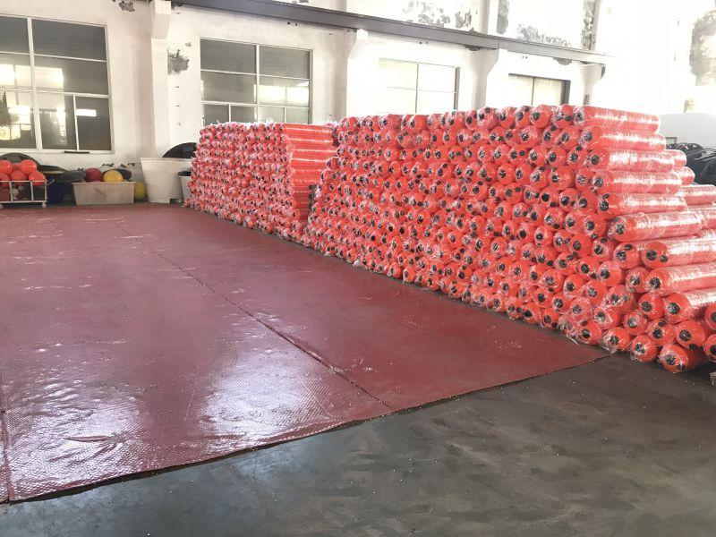 马来西亚水上塑料拦污浮筒装置