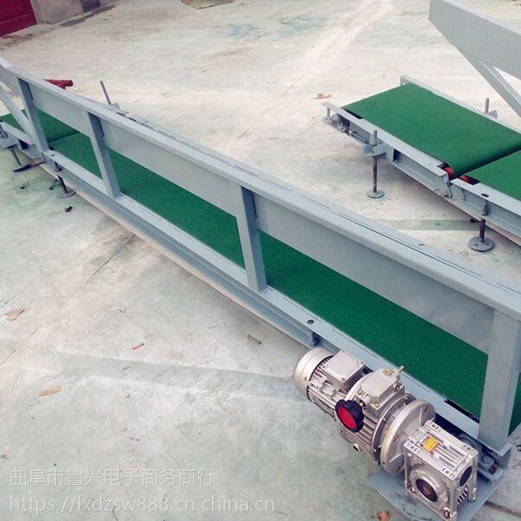 工业铝型材输送机防滑式 分拣用传送机漳州