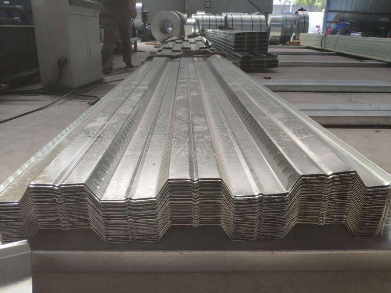 26441平方YX51-305-915压型钢板生产中