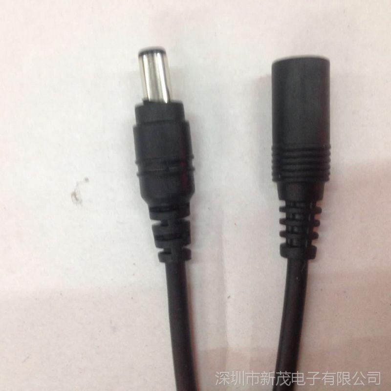 供应DC线 DC5.5*2.1公母线 开关电源适配器输出线