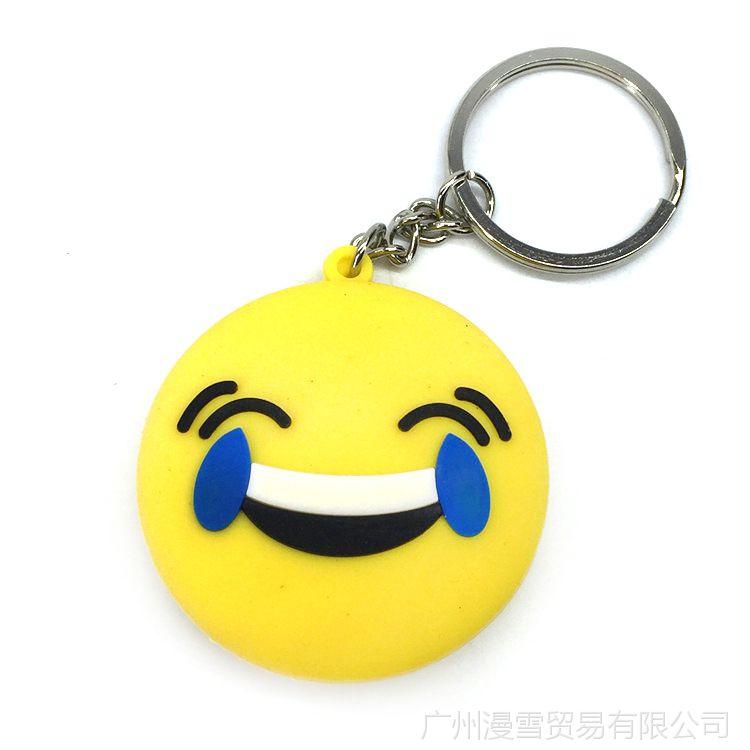 QQ表情图片项链钥匙扣挂饰吊坠图案瑞克和微信群聊人双面表情大全搞笑图片