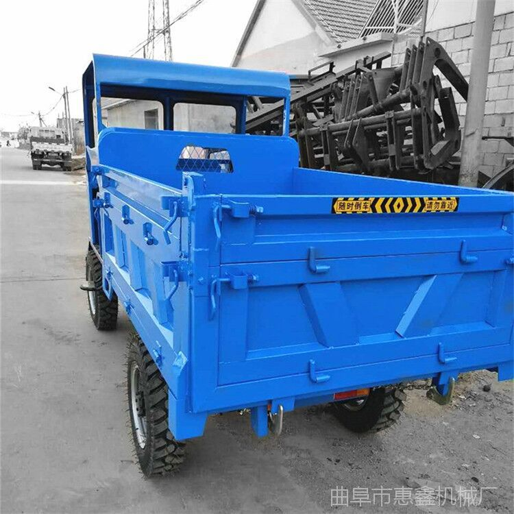 半封闭驾驶室柴油运输车 私人定制农用运输车 全新四驱果园运输车