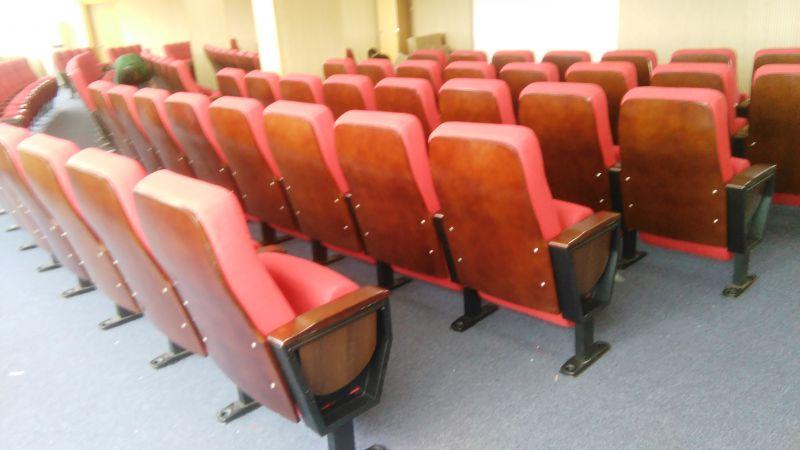 礼堂椅免钉固定地面-可移动礼堂椅-学校机关固定礼堂椅品牌