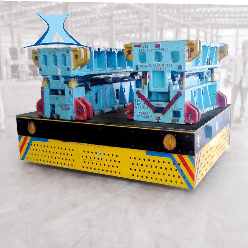 蓄电池无轨道遥控平板小车搬运重型模具无轨搬运车非标定制