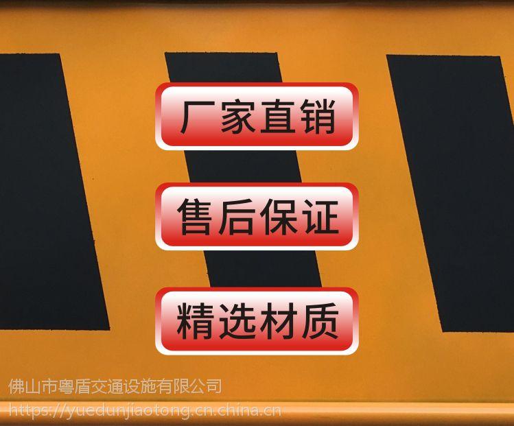 佛山厂家 粤盾交通市政护栏铁制弯角铁马安全围栏黄黑铁马隔离栏(图2)