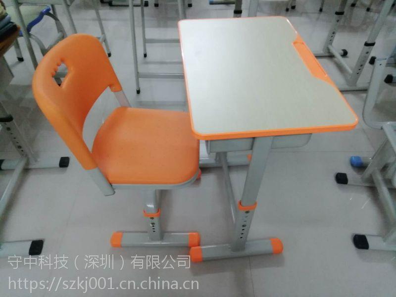 中国优质供应商-深圳中学生课桌椅厂家