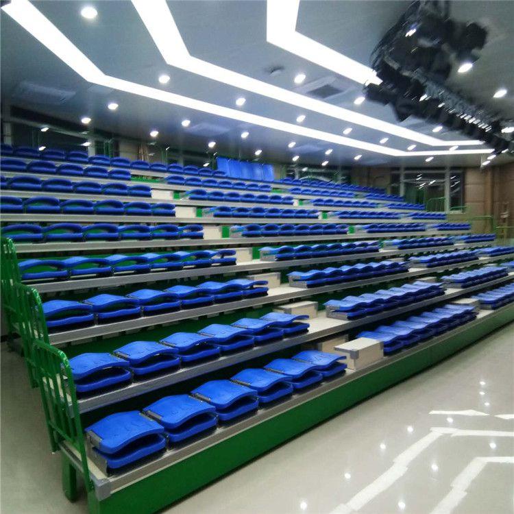 北京学校电动伸缩看台座椅