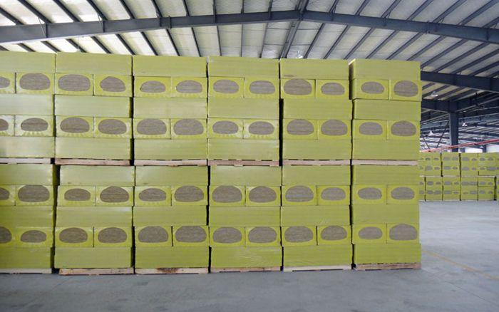 外墙防火保温岩棉板供货商 半硬质保温岩棉板YN87