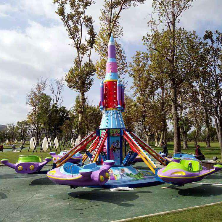 自控飞机视频_公园儿童游乐设备自控飞机多少钱