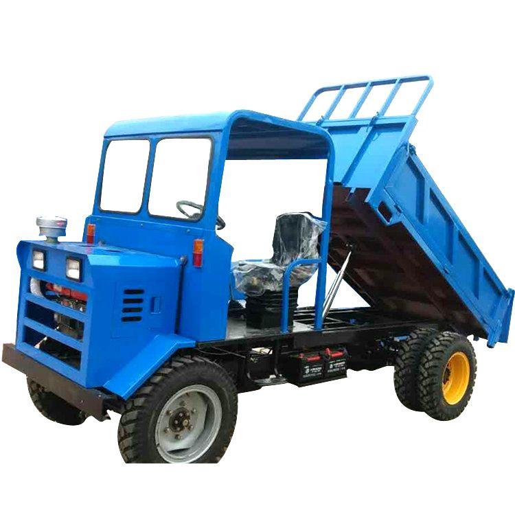 柴油四不像 柴油自卸农用四驱四轮车 爬山地运输拖拉机自卸车