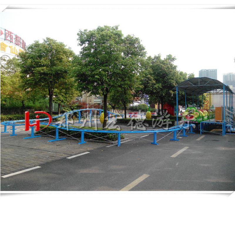 户外大型陆地游乐设备青虫滑车 新款轨道类热销游艺机果虫滑车源头生产厂家
