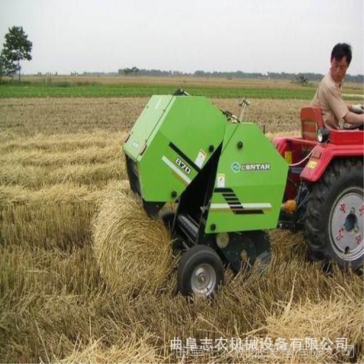 秸秆打捆机厂家 麦秆打捆机 牧草捡拾圆捆机价格