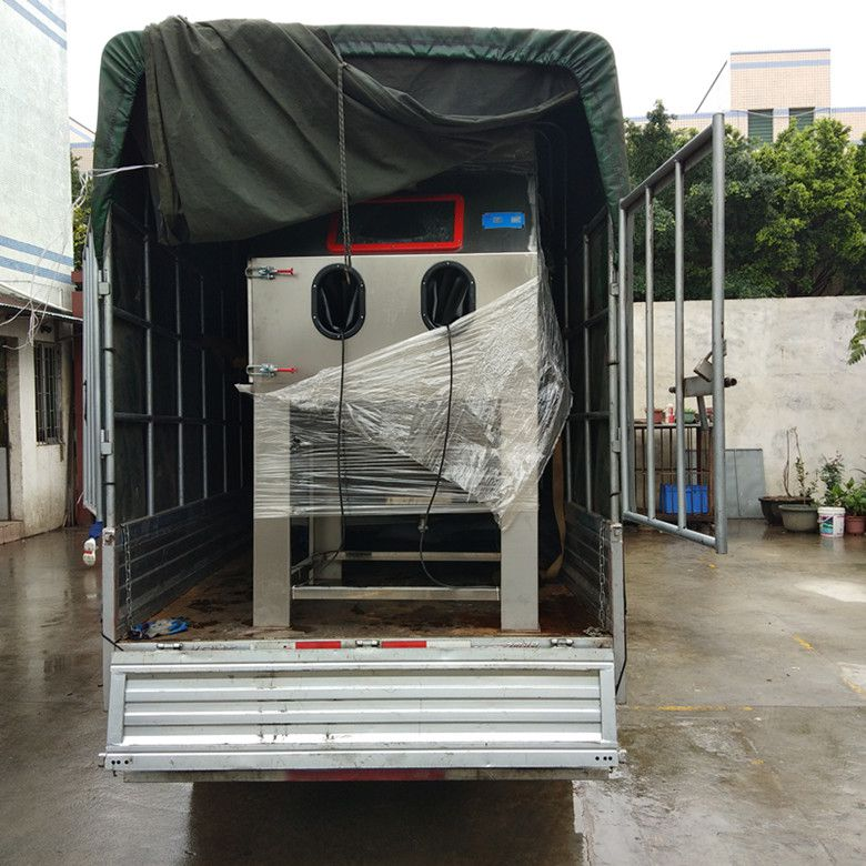 9080湿式水喷砂机视频
