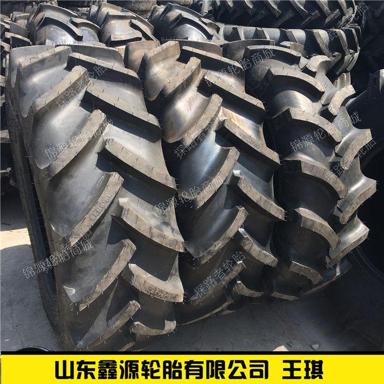 前进耐刺扎型拖农用拉机轮胎 14.9-26 14.9R26 钢丝胎有内胎