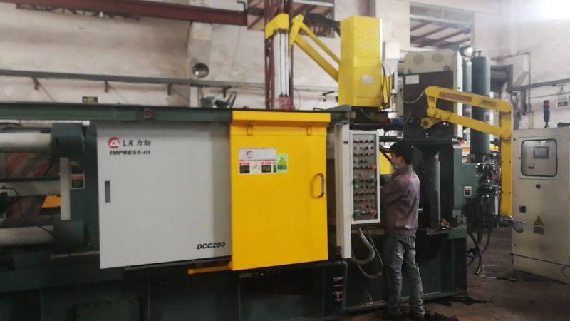 深圳力劲280吨铝合金卧式冷室压铸机