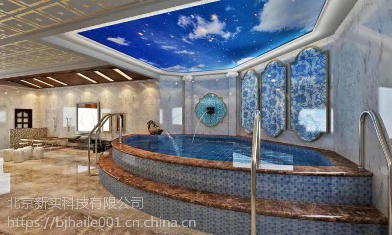 北京别墅游泳池施工