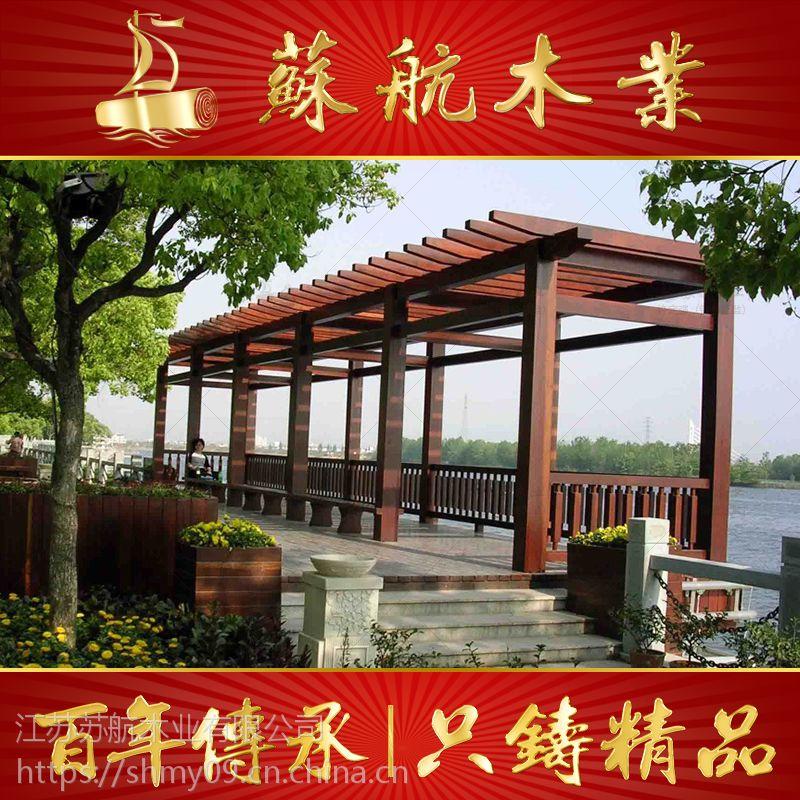 出售热风设备木制花架场地/防腐木葡萄架/炭化不锈钢游艺口图片