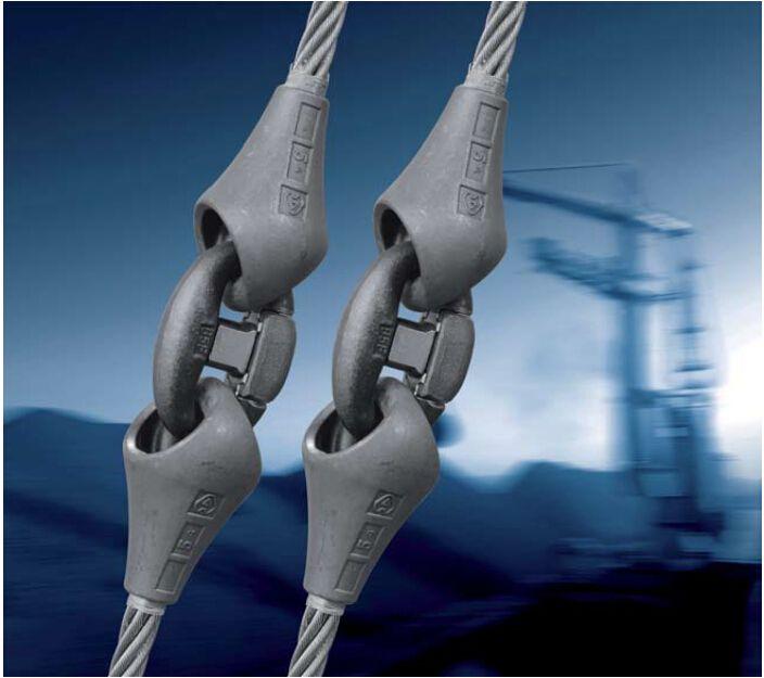 Carlstahl制作的进口钢丝绳索具展示