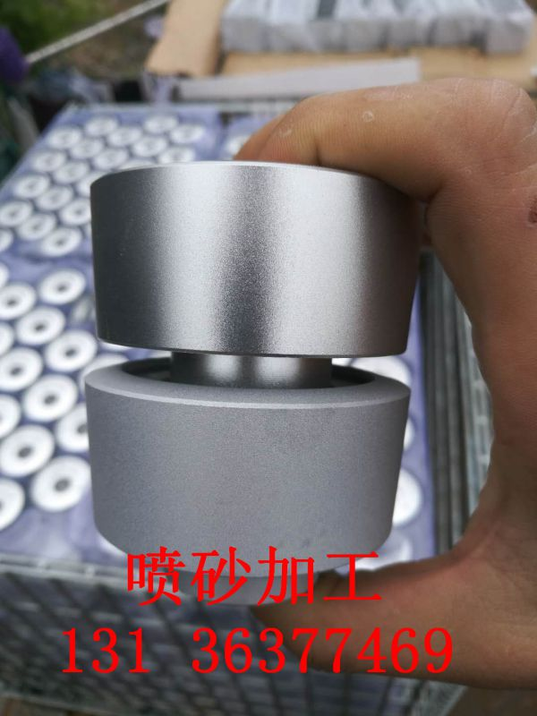 手动厢式喷砂加工铝合金氧化喷砂表面处理加工