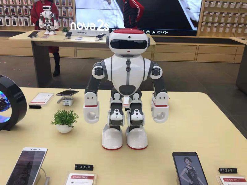商演表演机器人 跳舞 武术