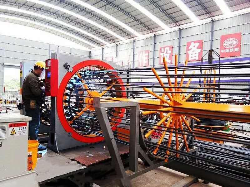供应厂家直销数控钢筋笼滚焊机 焊点饱满牢固