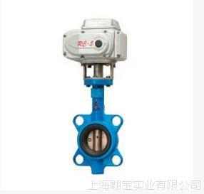 埃美柯D971X-16电动对夹式蝶阀9804 DN50--DN350(其它规格都可询)