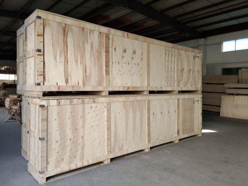 无锡太行木业现场打包   大型机械木包装箱   厂家定制