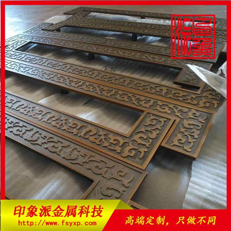 酒店装饰拉手供应商 定制不锈钢拉手制品 玫瑰金镀铜拉手批发厂家