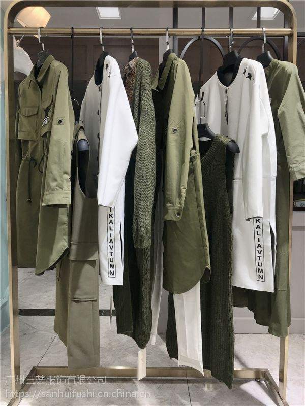 杭州都市时尚女装佰慧奴品牌尾货货源