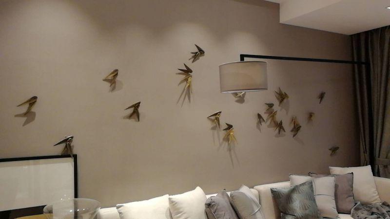 浮斐尼工程案例 颗粒质感砂岩石艺术涂料 精装公寓内墙包工包料